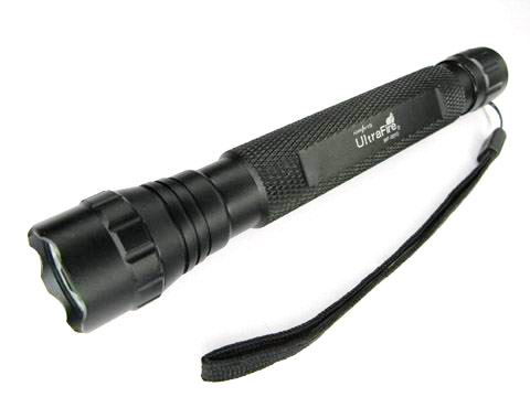 WF-501D LED aluminum Flashlight