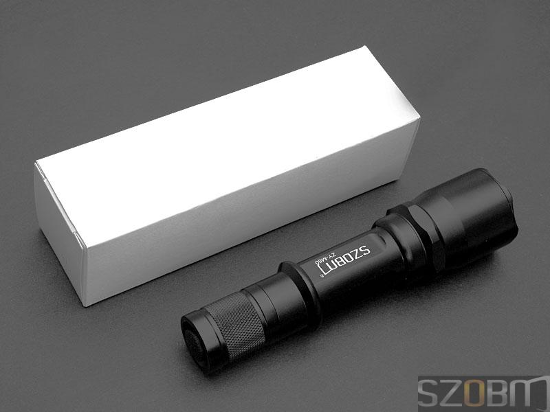 SZOBM ZY-M80 SSC P7 LED 5-mode Aluminium Flashlight