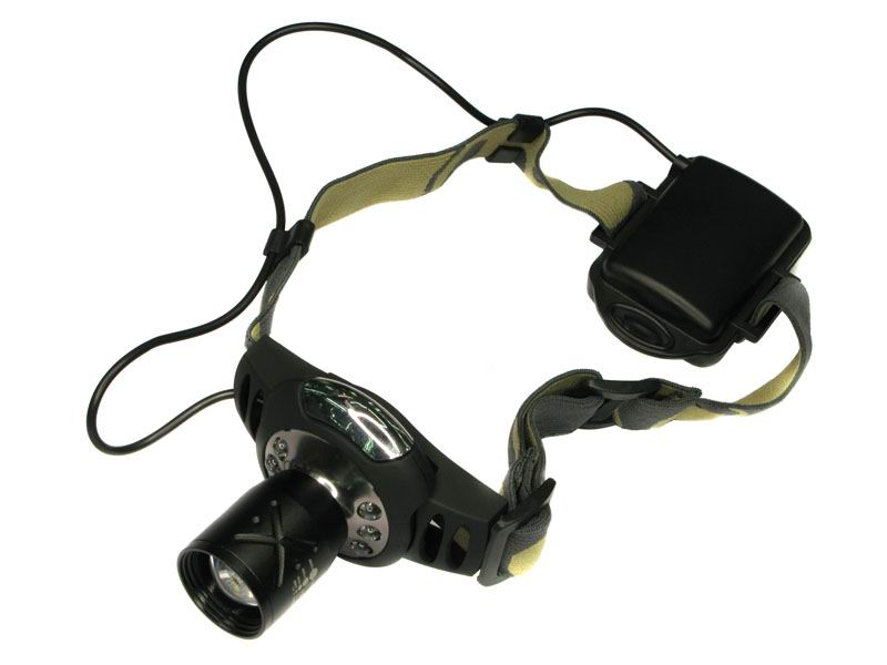 High Power Q3 + 6 led Headlamp