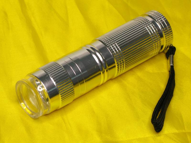 High Power 1W 45 lumens LED Aluminum Flashlight