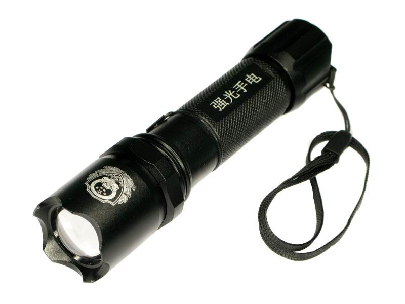 Cree Q3 Focus Adjustable Zoom Police LED Torches