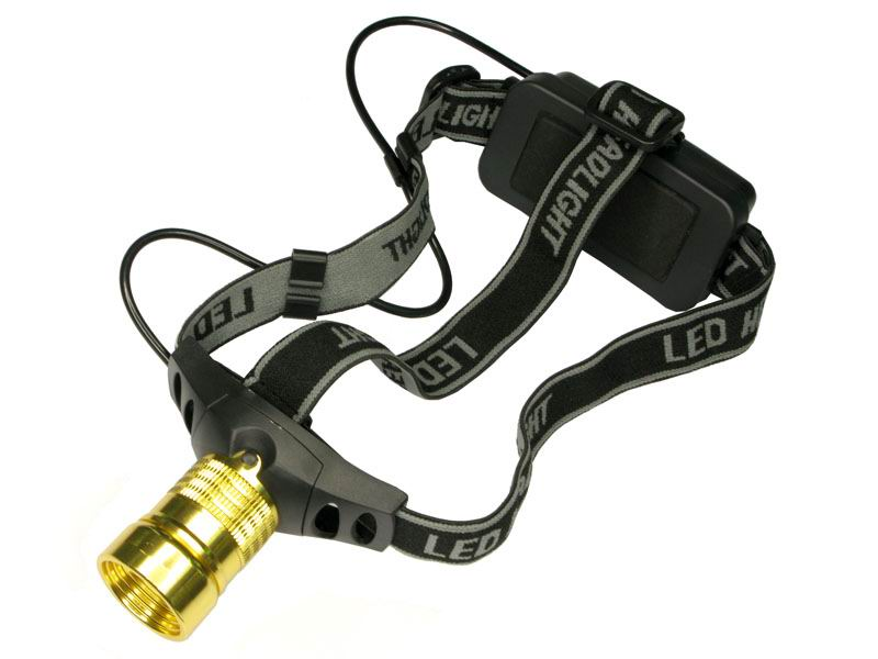 Aluminum CREE Q3 LED 3-Mode Camping Headlamp
