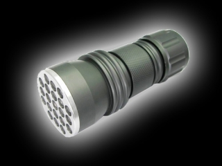 21LED UV Purple Light aluminum flashlight