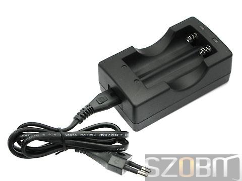 XXC-4.2V1A Li-ion Battery Charger for 18650 (EU