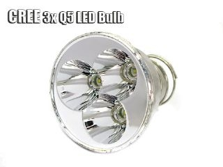 3x Q5 LED Bulb For WF-500/600 Flashlight
